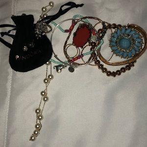 Pandora Gucci Etc jewelry Lot 🌺